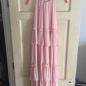 LOFT tiered Maxi dress